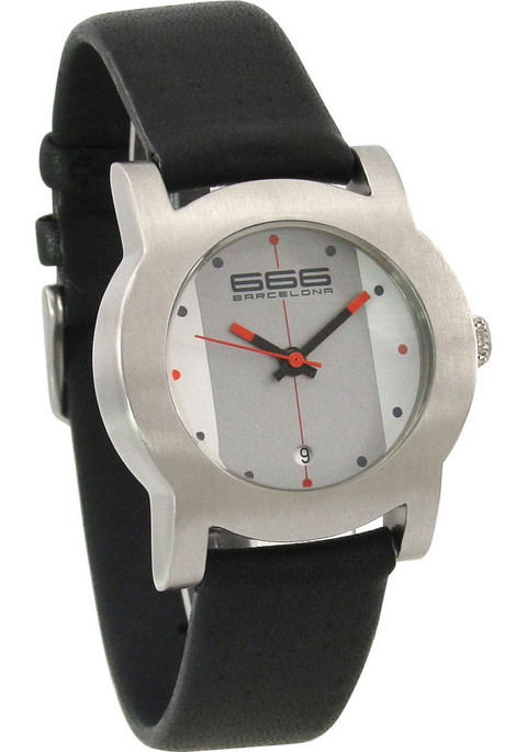 666 Primeon Leather White/Grey