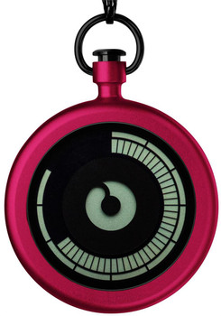 Ziiiro Titan Cherry Pocket Watch