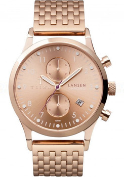 Triwa Lansen Chrono Rose Gold