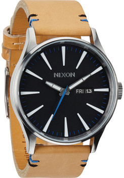 Nixon Sentry Leather Natural