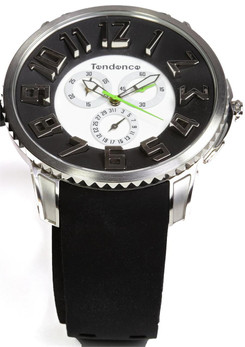Tendence Slim Classic Chrono Steel