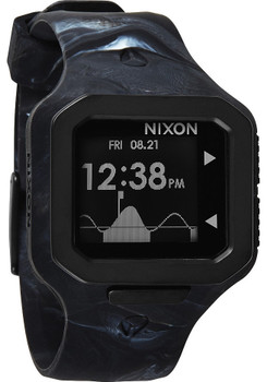 NIxon Supertide Black Smoke