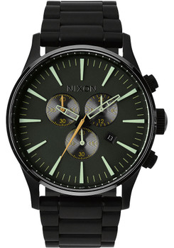 Nixon Sentry Chrono Matte Black (A3861042)