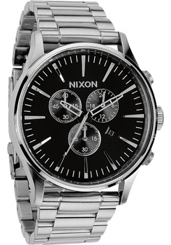 Nixon Sentry Chrono Black