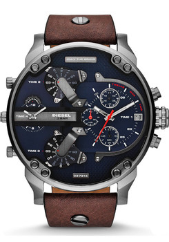 Diesel DZ7314 Mr. Daddy 2.0 Leather Brown/Navy