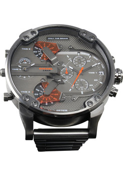Diesel DZ7315 Mr. Daddy 2.0 All Gunmetal