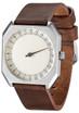 Slow Jo 24 Hour One Hand Dark Brown Vintage Silver/Cream