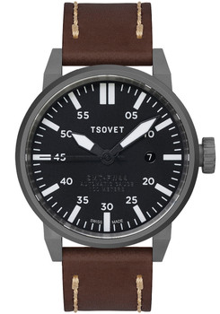 TSOVET SMT-FW44 Swiss Automatic - Brown/Gun
