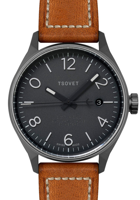 TSOVET SMT-RS40 Swiss Automatic - Tan/Gun
