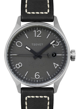 TSOVET SMT-RS40 Swiss Automatic - Black/Silver