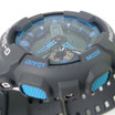 G-Shock XL Worldtime Dark Grey/Cyan -Limited Edition