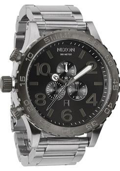 Nixon 51-30 Chrono Silver/Gunmetal full