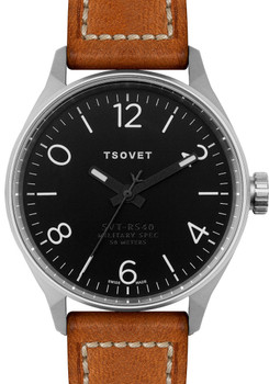 TSOVET SVT-RS40 Swiss -Tan/Silver