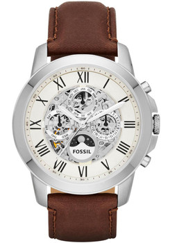 Fossil ME3027 Grant Leather Automatic Brown