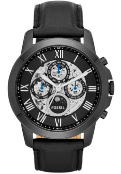 Fossil ME3028 Grant Leather Automatic All Black