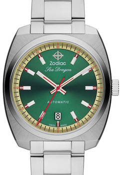 Zodiac ZO9901 Sea Dragon Automatic -Silver/Green