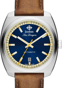 Zodiac ZO9904 Sea Dragon Automatic -Brown/Navy