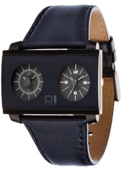 01 the One AN05BK01B1 Dual Time Zone