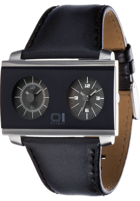 01 THE ONE AN05BK01S1 Dual Time Zone
