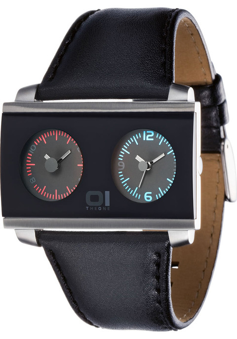 01 THE ONE AN05BK02S1 Dual Time Zone