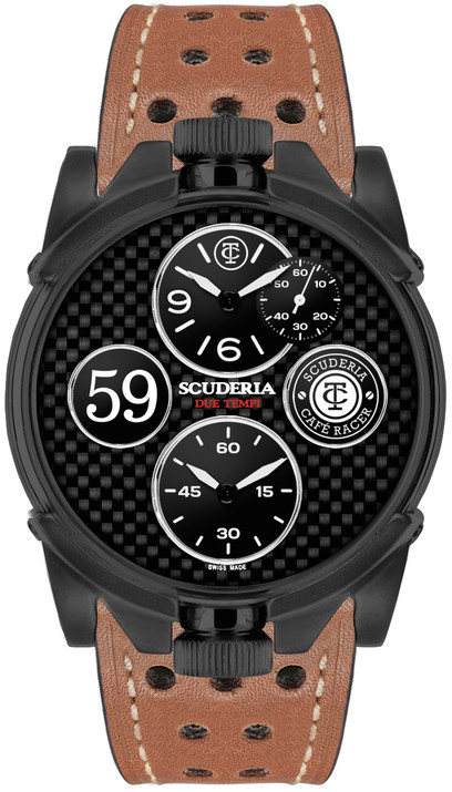CT Scuderia 2 Tempi Carbon Twin Time -Black/Brown