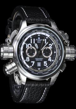 Aeromatic Cannon Chronograph Worldtour