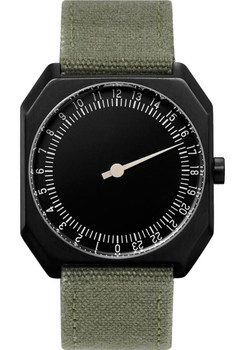 Slow Jo 24 Hour One Hand Olive Canvas/Black