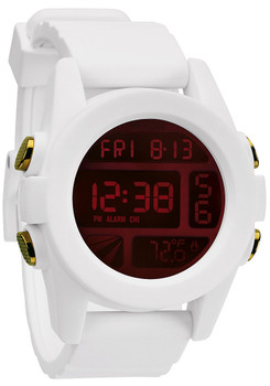 Nixon Unit White Iridium
