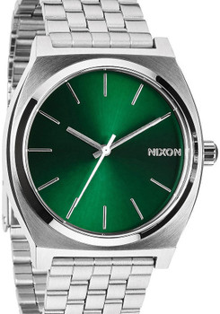 Nixon Time Teller SS Green Sunray