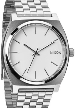 Nixon Time Teller SS White