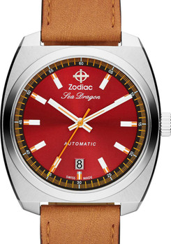 Zodiac ZO9905 Sea Dragon Automatic Tan - LIMITED EDITION