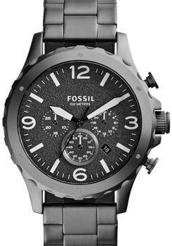 Fossil JR1469 Nate Chronograph Gunmetal