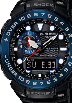G-Shock Gulfmaster Triple Sensor Black/Blue