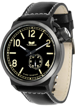 VESTAL CTN3L10 Canteen Leather Black/Sand