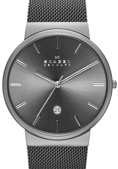 Skagen SKW6108 Ancher Mesh Gunmetal Grey