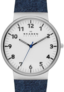 Skagen SKW6098 Ancher Blue Felt