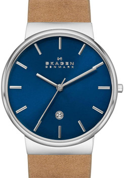 Skagen SKW6103 Ancher Tan/Blue