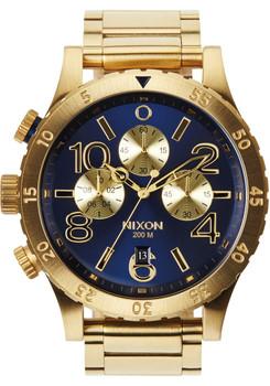 Nixon 48-20 Chrono Gold/Blue Sunray