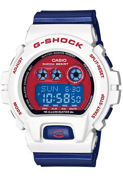 G-Shock 6900 XL Limited Edition - Red, White & Blue