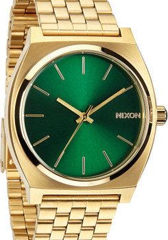 Nixon Timeteller SS Gold/Green Sunray