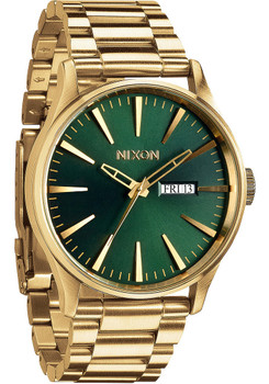 Nixon Sentry SS Gold/Green Sunray