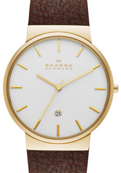 Skagen SKW6142 Ancher Brown/Gold