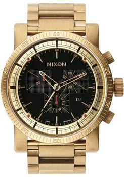 Nixon Magnacon II Chrono SS Gold Black