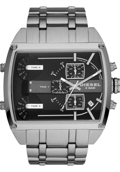 Diesel DZ7324 Fleet Triple Time Chronograph Jump Hour