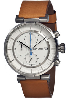 Issey Miyake W Chronograph Brown SILAY008