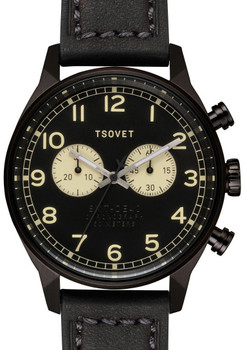 TSOVET SVT-DE40 Chronograph All Black