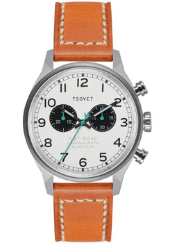 TSOVET SVT-DE40 Chronograph Steel/Brown
