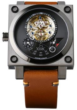 Xeric Xeriscope Squared Gunmetal/Brown (XS2-3020) front