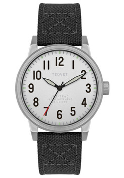TSOVET JPT-TF40 Silver/Black Canvas