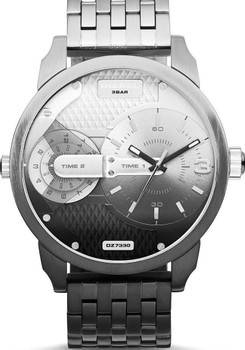Diesel Little Daddy Ombre Stainless Steel Black Steel Watch